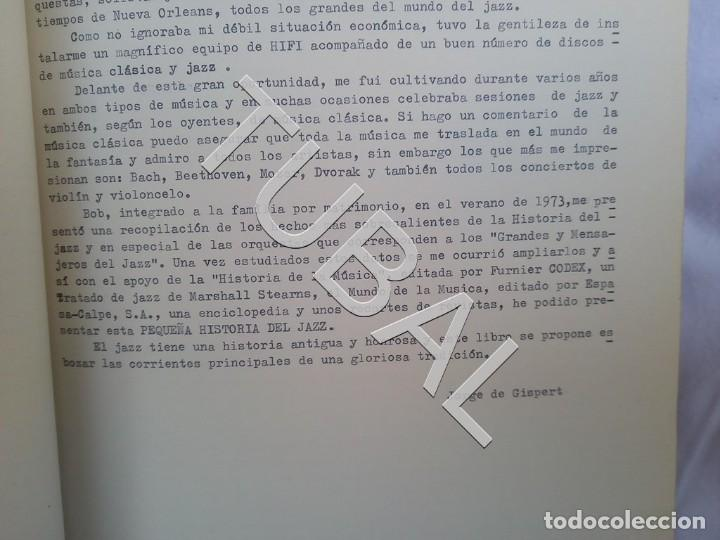 Catálogos de Música: TUBAL 1974 JAZZ MANUSCRITO BOB POR JORGE DE GISPERT 110 FOLIOS DIBUJOS MONTADOS ILUMINADOS A MANO G5 - Foto 29 - 150984542