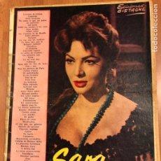 Catálogos de Música: CANCIONERO SARA SARITA MONTIEL EDICIONES BISTAGNE. Lote 151174917