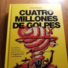 Catálogos de Música: CUATRO MILLONES DE GOLPES. ERIC JIMÉNEZ. LOS PLANETAS, LAGARTIJA NICK. Lote 151908118