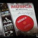 Catálogos de Música: MUSICA DE PELICULA LA GUIA IMPRESCINDIBLE PARA LOS AMANTES DEL CINE LIBROS CUPULA. Lote 152647310