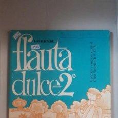 Catálogos de Música: FLAUTA DULCE 2º. Lote 152876406