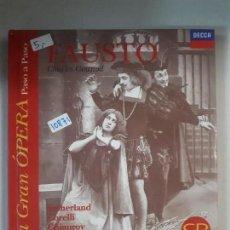 Catalogues de Musique: FAUSTO - LA GRAN OPERA PASO A PASO. Lote 153049726