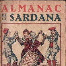 Catálogos de Música: ALMANAC SARDANA 1926 - PORTADA OPISSO. Lote 153826114