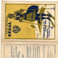 Catálogos de Música: DISCOS ELÉCTRICOS REGAL. SUMPLEMENTO Nº 61 ENERO 1929. ILUSTRADO POR PENAGOS.. Lote 154921346