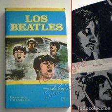 Catálogos de Música: LOS BEATLES LIBRO MUY B EST. ALAIN DISTER GRUPO BRITÁNICO DE MÚSICA ROCK FOTOS THE JOHN LENNON JÚCAR. Lote 154987462