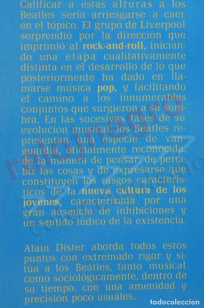 Catálogos de Música: LOS BEATLES LIBRO MUY B EST. ALAIN DISTER GRUPO BRITÁNICO DE MÚSICA ROCK FOTOS THE JOHN LENNON JÚCAR - Foto 2 - 154987462