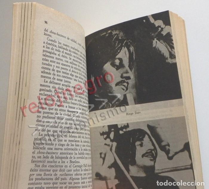 Catálogos de Música: LOS BEATLES LIBRO MUY B EST. ALAIN DISTER GRUPO BRITÁNICO DE MÚSICA ROCK FOTOS THE JOHN LENNON JÚCAR - Foto 5 - 154987462