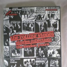 Catálogos de Música: TABLATURA ROLLING STONES SINGLES COLLECTION THE LONDON YEARS - 1991 - LIBRO PARTITURAS. Lote 155312362