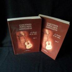 Catálogos de Música: LUIS DIEZ HUERTAS - CANCIONES POPULARES ANDALUZAS, AL ALCANCE DE LOS NIÑOS - 2 TOMOS. Lote 155407318