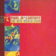 Catálogos de Música: PAUL MCARNTNEY THE NEW WORLD TOUR 1993. Lote 155483678