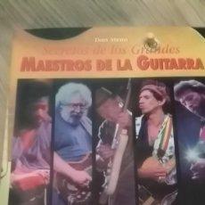 Catálogos de Música: LOS SECRETOS DE LOS MAESTROS DE LA GUITARRA. Lote 155642326