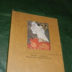 Catálogos de Música: EL CANCIONERO DE UPPSALA. VOLUMEN DE ESTUDIOS, POR MARICARMEN GÓMEZ MUNTANÉ. 2003. Lote 155663586