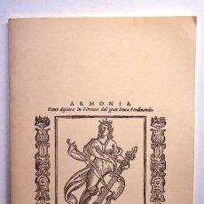 Catálogos de Música: PROGRAMA LA CAPELLA REIAL DE CATALUNYA. JORDI SAVALL. CONCIERTO EXTRAORD. CON MOTIVO DE LA EXPO 92. Lote 155885558