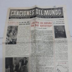 Catálogos de Música: 11252 - CANCIONES DEL MUNDO - Nº 22. Lote 156932870