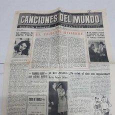 Catálogos de Música: 11250 - CANCIONES DEL MUNDO - Nº 20. Lote 156934442