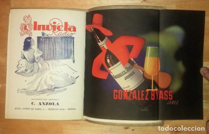 Catálogos de Música: 1944 Temporada de Opera. Sevilla. Publicidad de licores. Gonzales Byass Jerez (ver fotos) - Foto 2 - 157967718