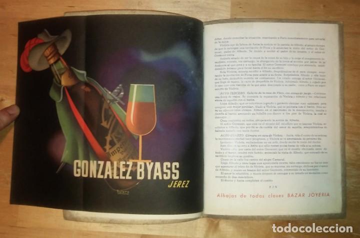 Catálogos de Música: 1944 Temporada de Opera. Sevilla. Publicidad de licores. Gonzales Byass Jerez (ver fotos) - Foto 4 - 157967718