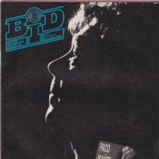 Catálogos de Música: BID : BOLETÍN INFORMATIVO DISCOPLAY - AÑO 5 - Nº 55 - NOVIEMBRE 1988. Lote 158318950