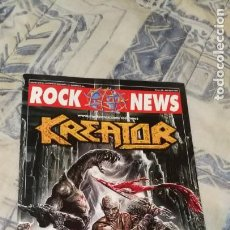 Catálogos de Música: REVISTA ROCK NEWS Nº 36 JULIO AGOSTO 2006 (KREATOR EN PORTADA). Lote 214148722