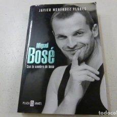Catalogues de Musique: MIGUEL BOSE CON TU NOMBRE DE BESO - JAVIER MENENDEZ FLORES - N 4. Lote 159401986