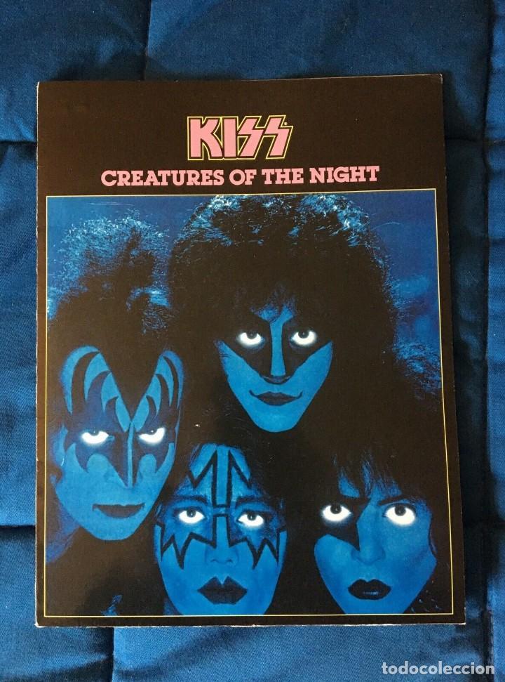 KISS CREATURES OF THE NIGHT PRESS KIT LP 33 RARE (Música - Catálogos de Música, Libros y Cancioneros)