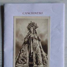 Catálogos de Música: CANCIONERO MONASTERIO DE LA ENCARNACIÓN (ÁVILA), CON IMAGEN/POSTAL DE LA VIRGEN. Sª TERESA DE JESÚS. Lote 160034382