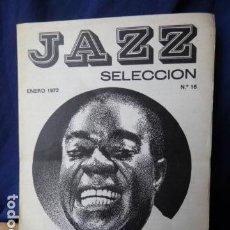 Catálogos de Música: JAZZ SELECCION N.16 SANT MICHAEL CLUB ENERO 1972. Lote 160519726