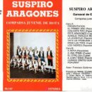 Catálogos de Música: CARNAVAL CADIZ 1981. CASETE COMPARSA JUVENIL DE ROTA SUSPIRO ARAGONES. Lote 160544858