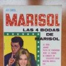 Catálogos de Música: CANCIONERO MARISOL. LAS CUATRO BODAS DE MARISOL. AÑO 1967. EDITORIAL ALAS.. Lote 161069482
