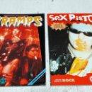 Catálogos de Música: SEX PISTOLS Y THE CRAMPS IMAGENES DEL ROCK Nº 36 Y 40 SIN POSTER BUEN ESTADO. Lote 161289142