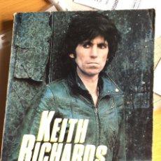 Catálogos de Música: ROLLING STONES. KEITH RICHARDS. LIBRO BY BARBARA CHARONE. 1982, 198 PAGS BUEN ESTADO, VER FOTOS. Lote 162053506