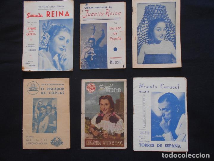LOTE CANCIONEROS LOS DE LA FOTO (Música - Catálogos de Música, Libros y Cancioneros)