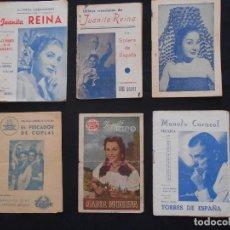 Catálogos de Música: LOTE CANCIONEROS LOS DE LA FOTO. Lote 163722946