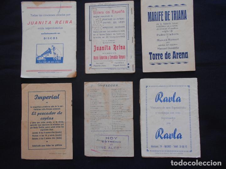 Catálogos de Música: LOTE CANCIONEROS LOS DE LA FOTO - Foto 2 - 163722946