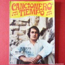 Catálogos de Música: NINO BRAVO - CANCIONERO TIEMPO - AÑOS 70. Lote 163731414
