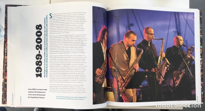 Catálogos de Música: Libro Festival Jazz Barcelona 40 años - Foto 3 - 163818510