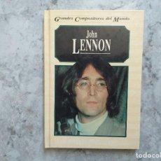 Catálogos de Música: JOHN LENNON. GRANDES COMPOSITORES. MICHAEL WHITE.. Lote 165164698