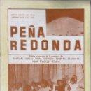 Catálogos de Música: CANTORAL. PEÑA REDONDA. AGOSTO 1987. AÑO VII. Nº 19.. Lote 165168218