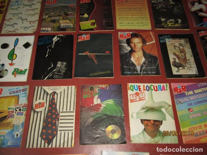 Catálogos de Música: Antiguo Lote de 25 BID Boletín Informativo DISCOPLAY Años 1986-1989 - Foto 2 - 165249262