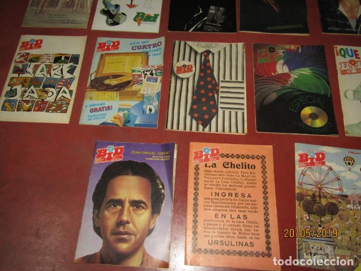 Catálogos de Música: Antiguo Lote de 25 BID Boletín Informativo DISCOPLAY Años 1986-1989 - Foto 3 - 165249262