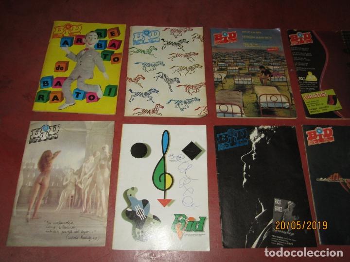 Catálogos de Música: Antiguo Lote de 25 BID Boletín Informativo DISCOPLAY Años 1986-1989 - Foto 4 - 165249262