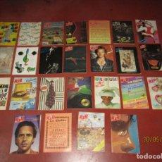 Catálogos de Música: ANTIGUO LOTE DE 25 BID BOLETÍN INFORMATIVO DISCOPLAY AÑOS 1986-1989. Lote 165249262