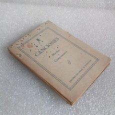 Catálogos de Música: CANCIONES PARA MARCHAS Y CAMPAMENTOS - EDICIONES DEL FRENTE DE JUVENTUDES (FALANGE, 1942). Lote 166124926