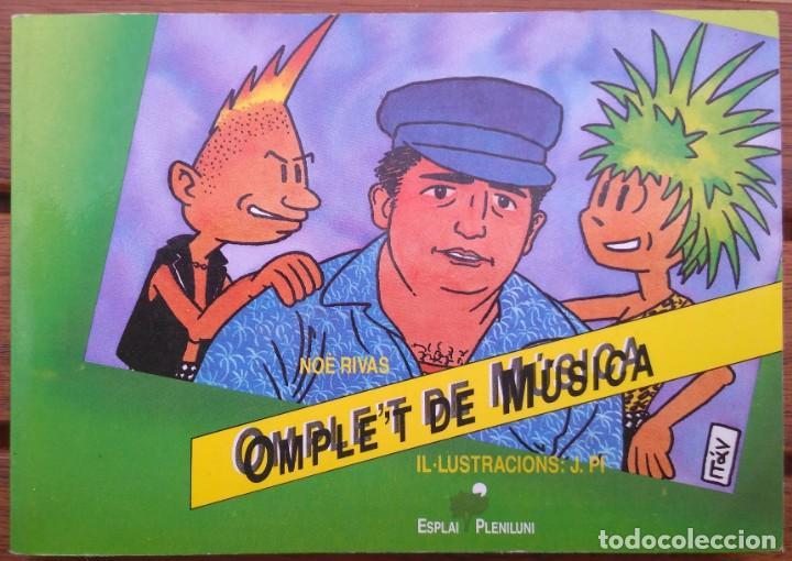 OMPLE'T DE MUSICA. NOE RIVAS (Música - Catálogos de Música, Libros y Cancioneros)