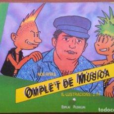 Catálogos de Música: OMPLE'T DE MUSICA. NOE RIVAS. Lote 167623064