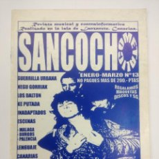 Catálogos de Música: REVISTA PUNK/SANCOCHO/ESKORBUTO.. Lote 168590440