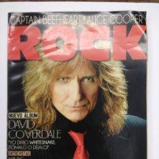 Catálogos de Música: REVISTA HEAVY METAL/THIS IS ROCK/DAVID COVERDALE/ALICE COOPER.. Lote 168708116