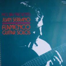Catálogos de Música: FLAMENCO GUITAR SOLOS JUAN SERRANO MEL BAY 1993. Lote 169101036