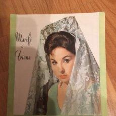 Catálogos de Música: MARIFE DE TRIANA - CATÁLOGO COLUMBIA DISCOS. Lote 169233572