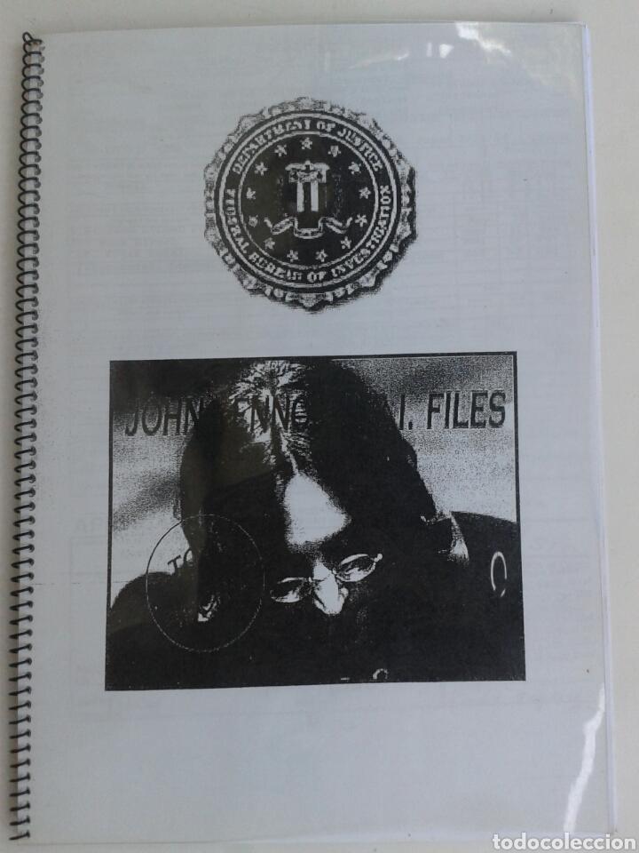 THE BEATLES - JOHN LENNON. F.B.I. FILES (Música - Catálogos de Música, Libros y Cancioneros)